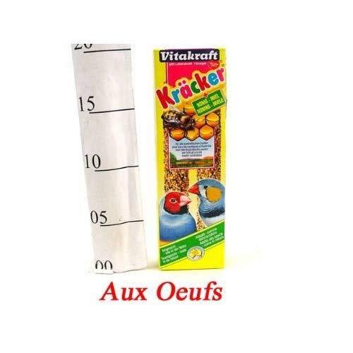 Vitakraft baguettes aux oeufs pour oiseaux exotiques boîte de 60g X6 Livraison Gratuite pour les commandes en France Prix Par Unité