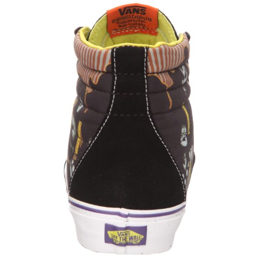 Vans U Sk8-Hi, Zapatillas Altas Unisex Adulto Negro (KISS HOTTER THAN HELL Black/Purple)