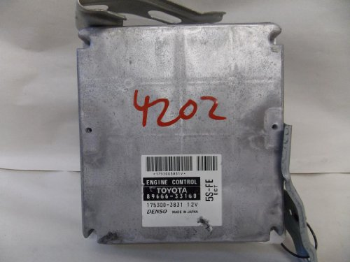 Toyota Camry 00-01 ECU Engine Control Unit, Module Computer AT 89666-33160 (Ecu Engine Control Module)