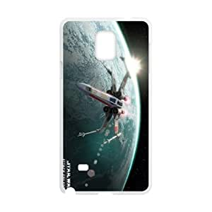 Star Wars Samsung Galaxy Note 4 Cell Phone Case White D5787776