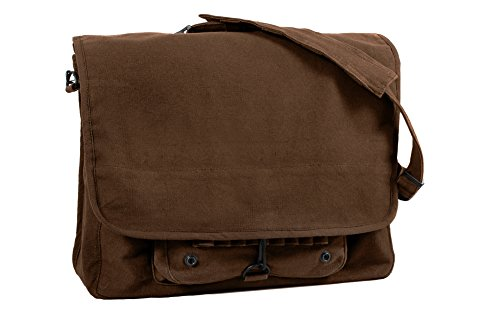 Earth Brown Vintage Classic Shoulder Messenger Bag