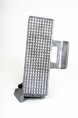 EMPI 16-2158-0 Angled Throttle Pedal, Unpolished, For Sand Buggy, Rail, Off-Road