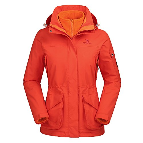 Camel Women's Interchange 3-In-1 Active Outdoor Sports Jacke