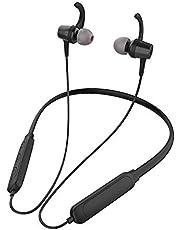 Celebrat A15 Sport Wireless Bluetooth Neckband Earphones, Magnetic Suction, Black