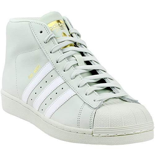 sports shoes c6375 49704 adidas Originals Mens PRO Model Running Shoe Linen GreenWhiteGold  Metallic 8.5 M US