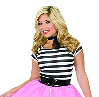8df2f7f10010e Amazon.com  Charades Women s Plus Size Poodle Skirt Costume with ...