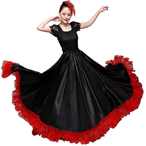Gorgeous Belly Dance 20 Yard Silk-like Skirt Tribal