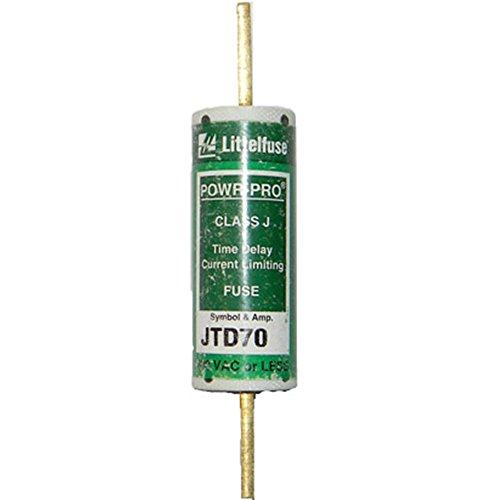 Littelfuse JTD-70 JTD070, 70Amp 600V Slow Blow Class J Cartridge Fuse