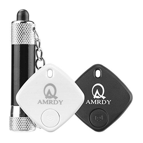 Amrdy 2PCS-Bluetooth key finder,bluetooth tracking devic,phone tracking device,bluetooth finder,phone finder,wallet tracking by Amrdy
