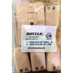 Suttle 951222-001 5-pk 2-Line Filter KIT DSL (Adsl Wall Mount Phone Filter)