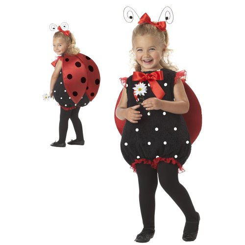 [Lil Lady Bug Costume - Baby 18-24] (Girls Bug Costumes)