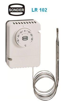 Termostato de refrigeración con capilar LR 102 de Sonder