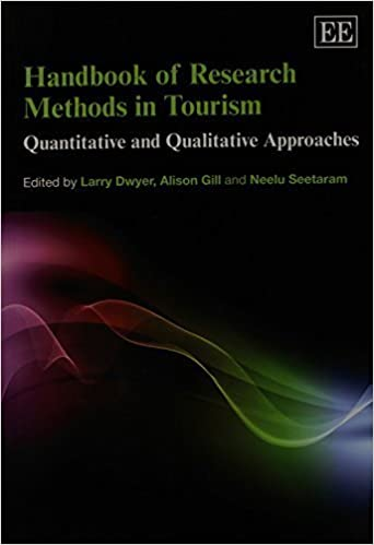Book Handbook of Research Methods in Tourism: Quantitative and Qualitative Approaches by Larry Dwyer (2014-02-28)