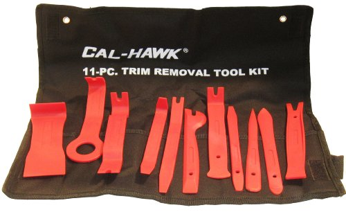 11Pc Auto Trim Door Panel Window Molding Upholstery - C Clip Removal Tool