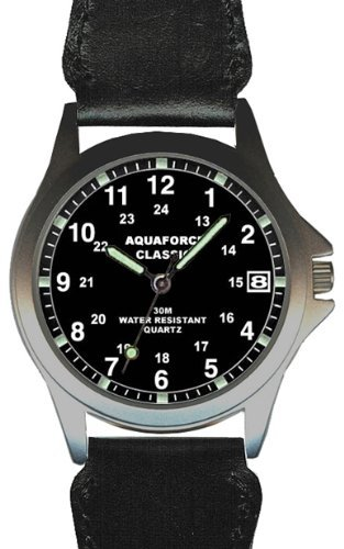 Aqua-Force-Classic-Analog-Watch-with-38mm-Black-Face