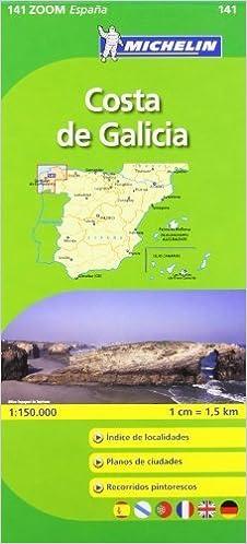 Costa De Galicia Michelin ZOOM map 141 Michelin Zoom Maps by Michelin 2009-03-01: Amazon.es: Michelin: Libros