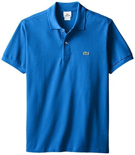Lacoste Men's Classic Short Sleeve L.12.12 Pique Polo Shirt,West Indies Blue,XXX-Large -