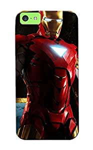 Awesome Design Download Free For Iphone Cartoon Ironman Hard Case Cover For Iphone 6 plus (5.5)(gift For Lovers)