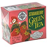 Mlesna Flavoured Green Tea, Strawberry, 100g