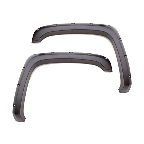 (Lund RX125S Smooth Rivet Style Fender Flare (4 Piece - for Toyota Tacoma))