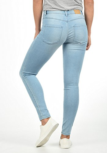 De nbsp; Jeans Da By Jacqueline Denim Donna L32 Feli fit Only Yong Colore Blue nbsp; nbsp; Pantaloni Denim light Skinny Elasticizzato l Taglia dZqqp