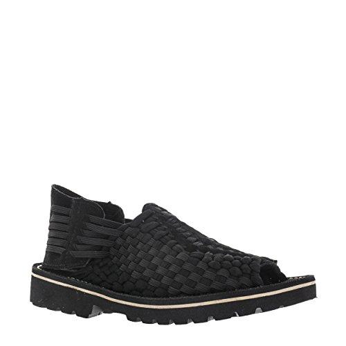 Vlado Calzature Uomo Aztac Nero Tessuto Nylon Sandal Us 8