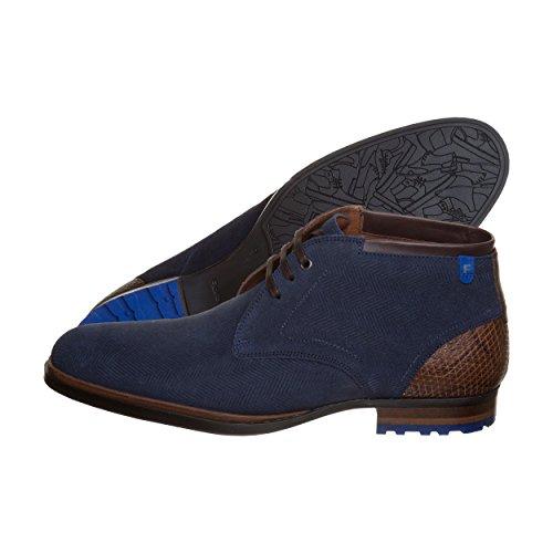 Floris van Bommel 10981 02, Scarpe stringate uomo Blau