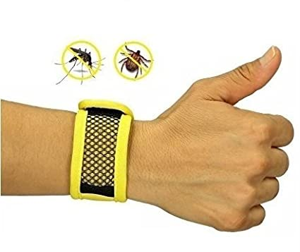 Natural Mosquito Repellent Wristband, Mosquito Repellent Bracelet With 5  Additional Repellent Refills. [Eco