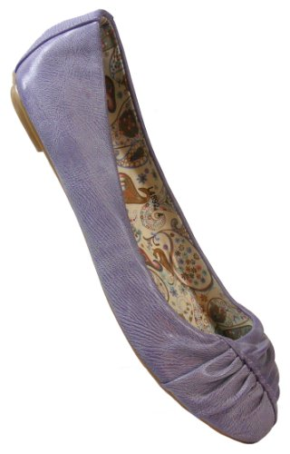 Ballerinas Dolly Blue Lilac Holiday Ladies Lilac Purple Shoes Womens On Flats Slip wawXxOqz