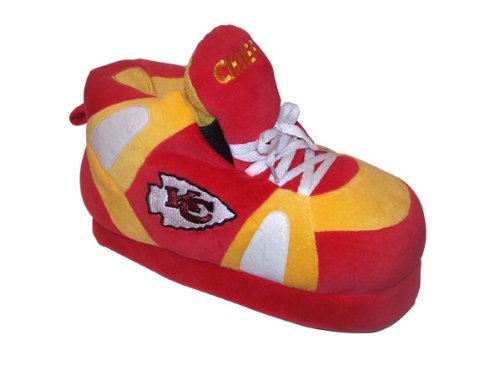 Slippers Happy and Feet Sneaker NFL Chiefs Mens Licensed Feet Officially Kansas Womens Comfy City qAvncgRg