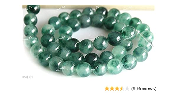 4 mm Green Natural Emerald Faceted Round Loose Beads Gemstone 15/""