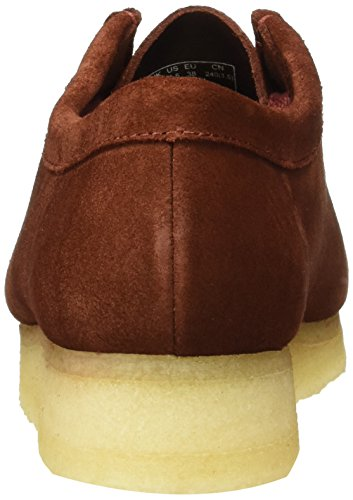 Clarks Originals Wallabee - Mocasines para mujer Marrón (Nut Brown)