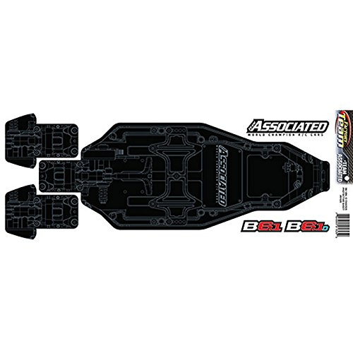 Team Associated Chassis - Team Associated Factory Team Chassis Protective Sheet Printed: B6.1 B6.1D, ASC91825