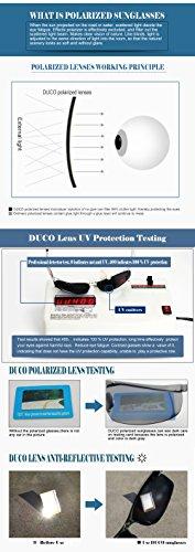 metal ultraligero para irrompible deportivas UV400 de y sol Gafas Duco 100 Blue de Revo polarizadas con hombre marco 8177S xw7pFx8q