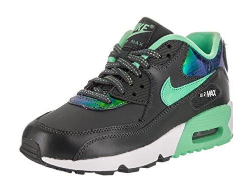 Nike 859633-001, Zapatillas de Deporte Mujer Gris (Anthracite / Green Glow-Pure Platinum)