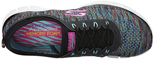 Skechers Space Noir Deep Glider Femme Bkmt Basses Baskets qqnf8ZrR