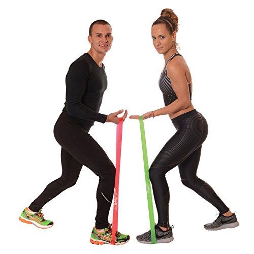 PrimaFit Resistance Loop Bands Set Of 4 Premium Exercise