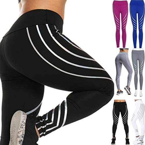 Amazon.com: Leggings de yoga de secado rápido, pantalones de ...