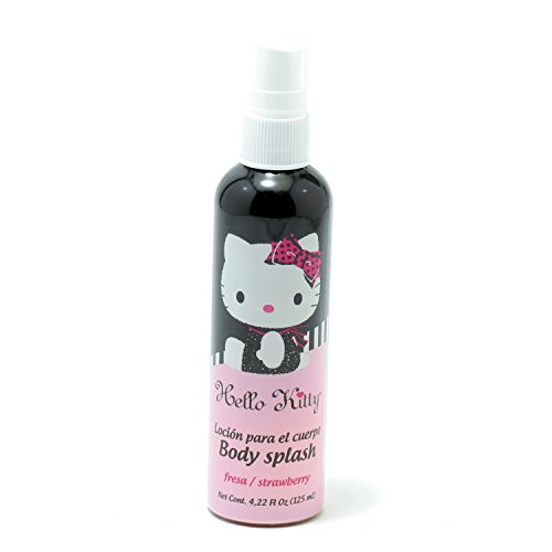 Hello Kitty Girls Hello Kitty Body Splash Strawberry 4.2 Oz 7.3 Oz (Girl Go Go Strawberry)