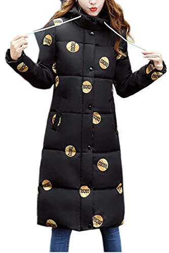 avec Chaud Femme Doudoune Hiver Fourrure Facile Manteau Sp Longues x46gwaqCn6