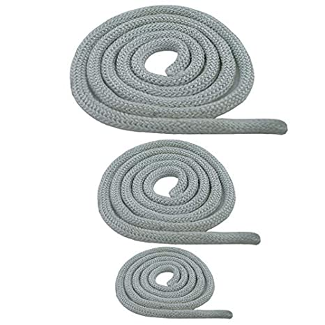100 m para puerta de 6,8,10,12,14,16,18,20 mm junta redonda estufa cord/ón resistente al calor blanco 1 Junta para horno