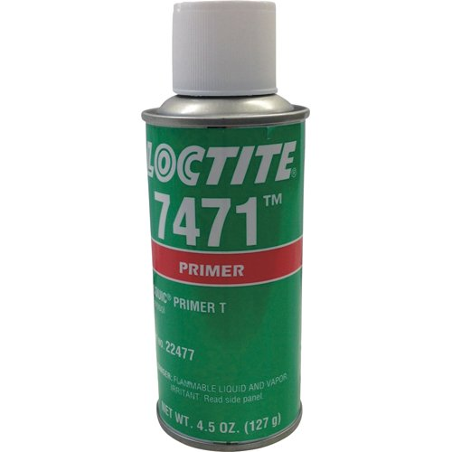 Loctite 22477 7471 T Primer in Aerosol Can, 4.5 oz, Amber (Pack of 10) by Loctite
