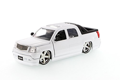 Cadillac Escalade Ext Pickup Truck, White - Jada Toys LoPro 96603 - 1/24 scale Diecast Model Toy Car (Brand New, but NO BOX)