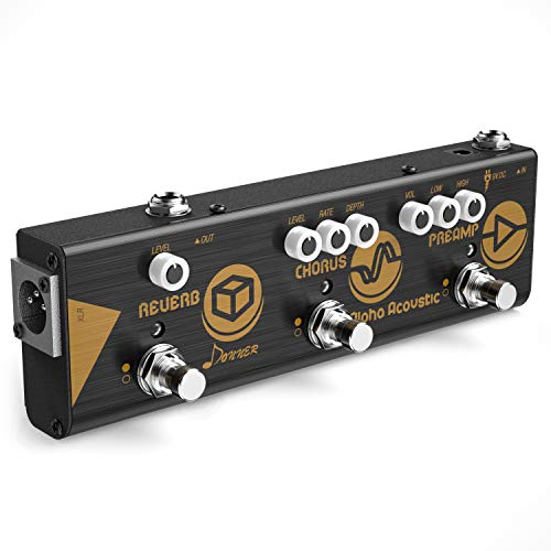 Donner Multi Effect Pedal Chain Alpha Acoustic