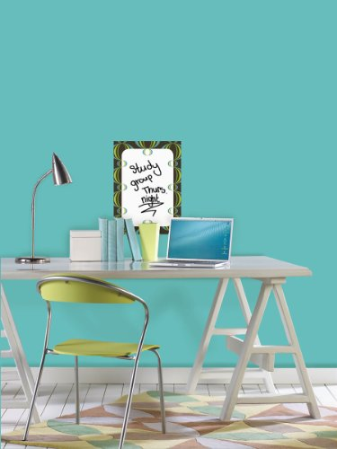 Blue and Green Loopy Dry Erase Message Board by Wall Pops (Image #1)