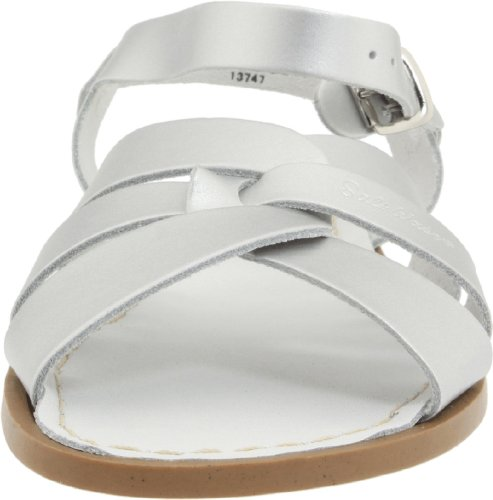Premium Leather Silver Sandals Sandals silver Original Water Kids Salt qxwYZtZH