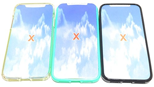 Apple iPhone X Case, iPhone 10 Case, iOME Crystal Clear Slim Fit Scratch Resistant Shockproof Bumper [Drop Protection] Flexible Soft Gel TPU Cover Shell Skin Case for iPhone X 2017 Edition 5.8 inch