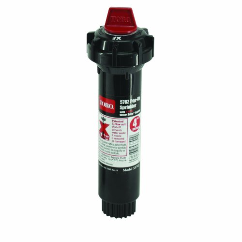 Toro 53742 570 Pop-Up with X-Flow Sprinkler, 4-Inch (Discontinued by Manufacturer)