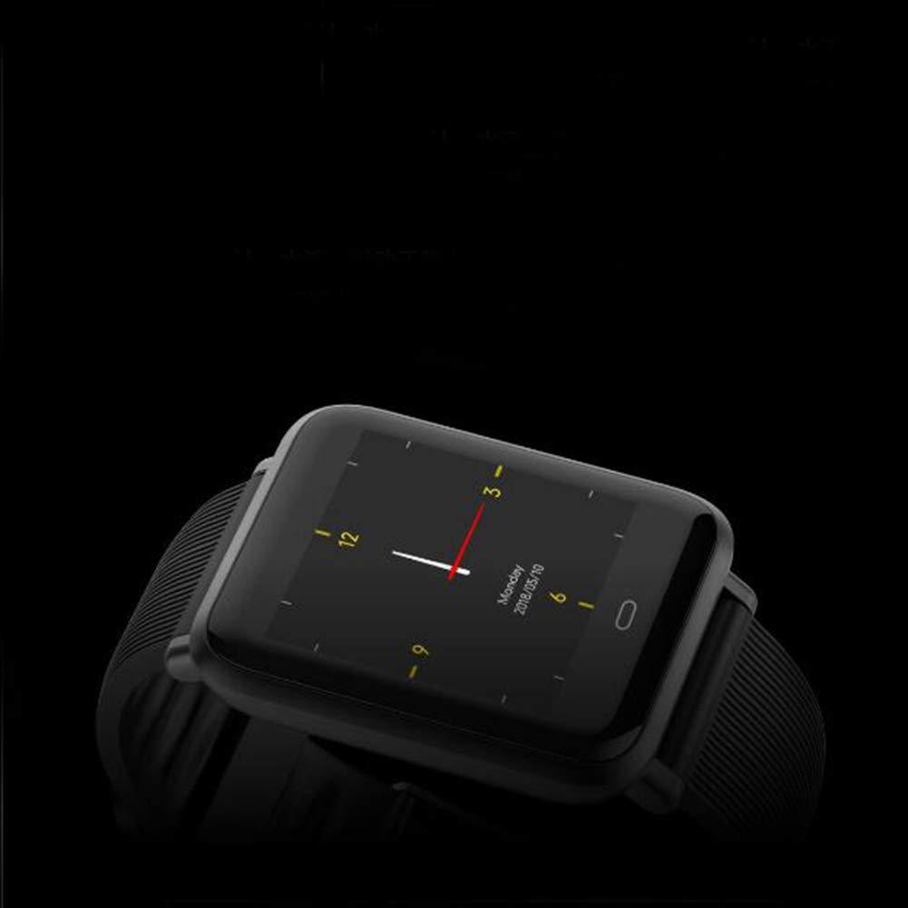 Fitness Tracker Bluetooth pod/ómetro Impermeable Ritmo card/íaco detecci/ón de presi/ón Arterial Pulsera Inteligente para ni/ños Mujeres Hombres,Brown