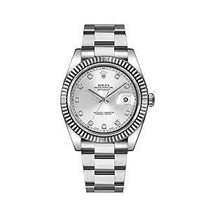Best Epic Trends 41Lba71O1vL._SS300_ Rolex Datejust II 41mm Steel Silver Diamond Dial Men's Watch 116334